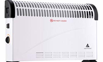 SORTFIELD Convector Radiator Heater/Adjustable 3 Heat Settin