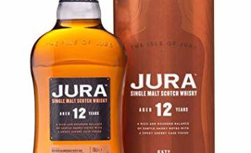 Jura 12 Year Old Single Malt Whisky, 70 cl