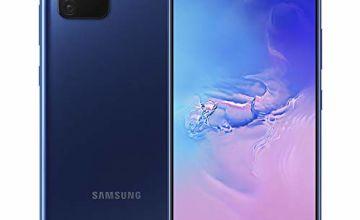 Samsung Galaxy S10 Lite Mobile Phone; Sim Free Smartphone - Prism Blue (UK version) [Amazon Exclusive]