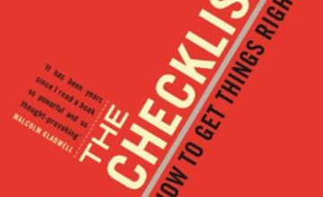 """Today only: """"The Checklist Manifesto"""" and more from 99p"""