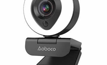Aoboco Webcam Streaming HD USB Pro Camera