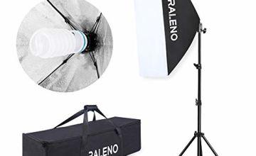 Softbox Photography Lighting Kit