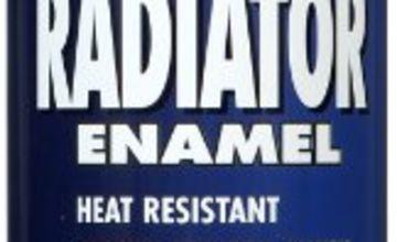Hammerite 400ml Radiator Enamel Aerosol - Satin White