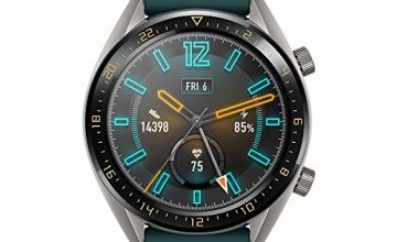 """HUAWEI Watch GT Active - GPS Smartwatch with 1.39"""" AMOLED Touchscreen, 2-Week Battery Life, 24/7 Continuous Heart Rate Tracking, Multiple Outdoor and Indoor Activities, 5ATM Waterproof, Dark Green"""