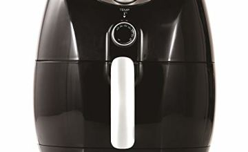 Tower Air Fryer with Rapid Air Circulation System for Healthy Oil Free or Low Fat Cooking, 1500 W, 4.3 Litre