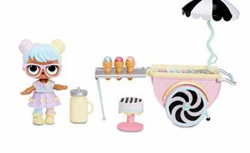 L.O.L. Surprise! 564911E7C Furniture Ice Cream Pop Bon & 10+ Surprises, Multi