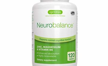 Neurobalance, Zinc Picolinate, Magnesium Citrate & Vitamin B6 Supplement for Adults & Children, 120 Tablets