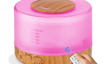 Life Fixes 500ml Humidifier with bluetooth speaker