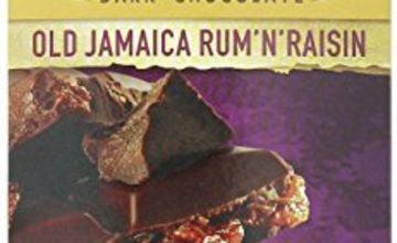 Candy Cadbury Old Gold Jamaica Rum and Raisin Dark Chocolate, 180g