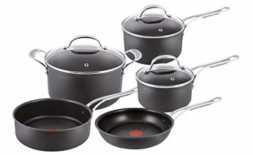 Up to 30% off Tefal Jamie Oliver Hard Anodised Premium Series - 5 Piece Cookware Set