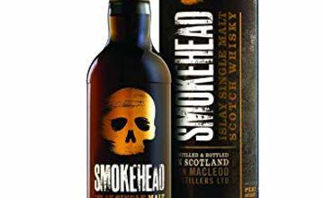 Smokehead Single Islay Malt Whisky, 70 cl