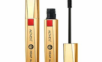 4D Mascara Waterproof, Luxuriously Longer, Thicker, Volumino