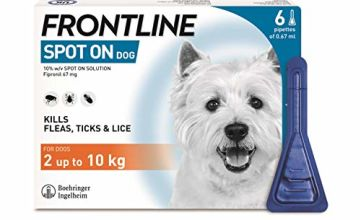 Up to 20% off FRONTLINE Spot On Flea & Tick Treatment for Dogs_