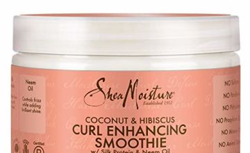 Shea Moisture Coconut and Hibiscus Curl Enhancing Smoothie, 355 ml