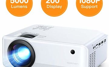 Projector APEMAN 5000 Lumen Mini Portable Projector
