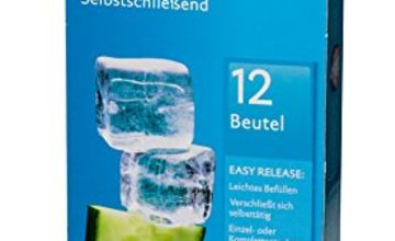 pely 5146 Self-Sealing Ice Cube Bags 12 Bags