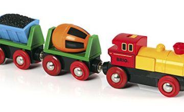 BRIO World - Battery Operated Action Train, Multicolored