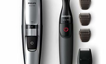 Philips Series 5000 Beard and Stubble Trimmer/Hair Clipper (0.4 mm - 7 mm) with Precision Multi Groom Styler - BT5205/83