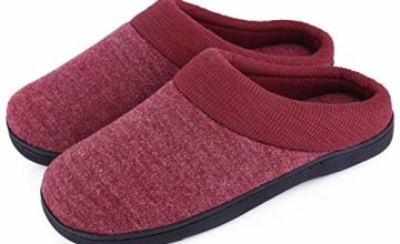 EverFoams Men's & Women's Comfort Memory Foam Slip-on House