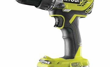 Ryobi R18PD3-113G 18 V ONE+ Cordless Combi Drill Starter Kit