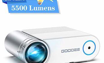 GooDee 5500 Lumens PortableMini Projector