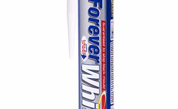 Forever White - Anti-mold silicone mastic for areas of high humidity - 295ml - White