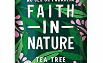 Save 20% on Faith in Nature 400ml Haircare and Body Washes
