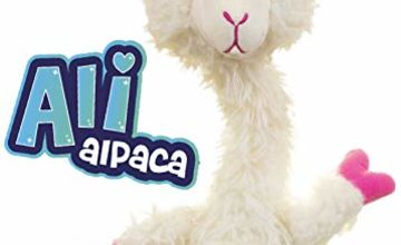 Sassimals Ali Alpaca | Hilarious Dancing Toy | Talks Back, Wiggles and Dances Like Crazy! | Play YOUR Words in a Funny Voice | 2 Modes | Age 0+