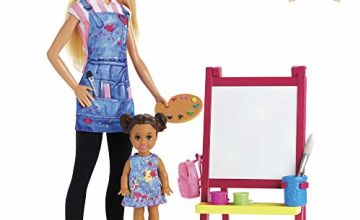 Barbie GJM29 Art Teacher Doll