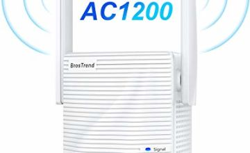 BrosTrend AC1200 WiFi Booster Range Extender