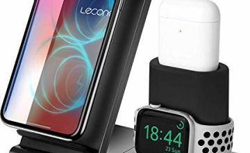 Wireless Charger 3 in 1 Wireless Charging Stand Dock Station