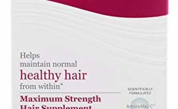 Viviscal - Maximum Strength Hair Supplements - Pack of 60 Tablets (1 Month Supply)