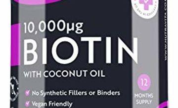 Biotin Hair Growth Supplement 10000mcg