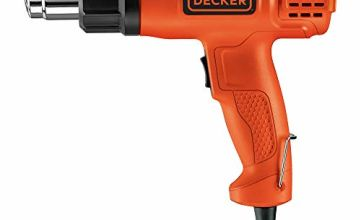 Black+Decker KX1650-GB Heat Gun, 1750 W, 230 V, Black/Orange