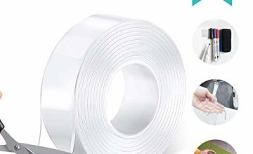 AHK Nano Adhesive Tape, Double Sided Multipurpose Removable