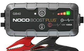 Save on NOCO Boost Plus GB40 1000 Amp 12-Volt UltraSafe Portable Lithium Car Battery Booster Jump Starter Power Pack For Up To 6-Liter Petrol And 3-Liter Diesel Engines and more