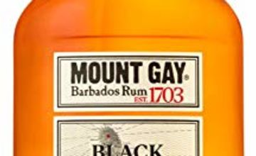 Mount Gay Black Barrel Double Cask Blend Rum, 70 cl