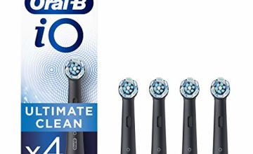 Save on Oral-B iO Ultimate Clean Black Toothbrush Heads