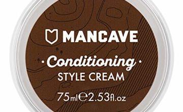 ManCave Conditioning Style Cream Light Hold 75ml