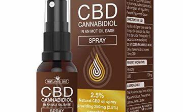 15%off Natures Aid CBD Oils