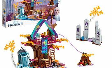 LEGO41164DisneyFrozenIIEnchantedTreehousewithPrincessAnna,OlafandMattias,2BunnyRabitsandFishAnimalFigures,ForestAdventuresSetsforGirlsandBoys6+YearsOld