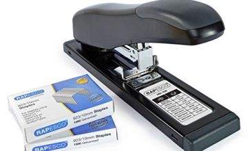 Save on Rapesco 1307 HD-100 Heavy Duty Stapler and Staples 923/10 mm (Pack of 2000) - 100 Sheet Capacity - Black and more