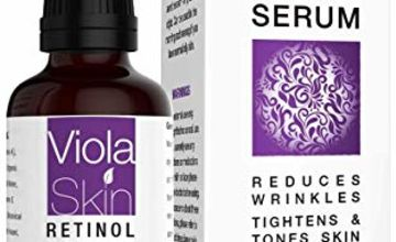 Retinol Face Serum with Hyaluronic Acid & Vitamin E