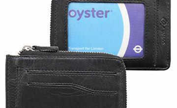 Credit Card Holder Men Women - RFID Blocking Small Slim Mini