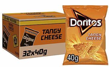 Doritos Tangy Cheese Tortilla Chips 40 g (Case of 32)