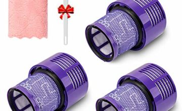 3 Pack Replacement V10 Filters Suit for Dyson