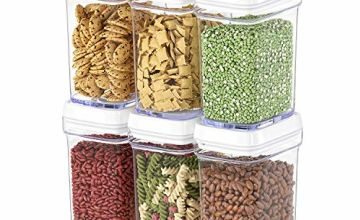Food Storage Container with Lids - Airtight Plastic BPA Free