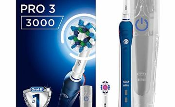 Oral-B Pro 3 3000 CrossAction Electric Toothbrush