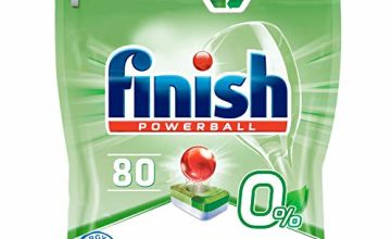 Save on Finish 0% Dishwasher Tablets Preservatives and Fragrance Free, 80 Tablets and more