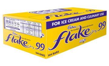 Save on Cadbury Flake 99 Single Bar (Pack of 144)